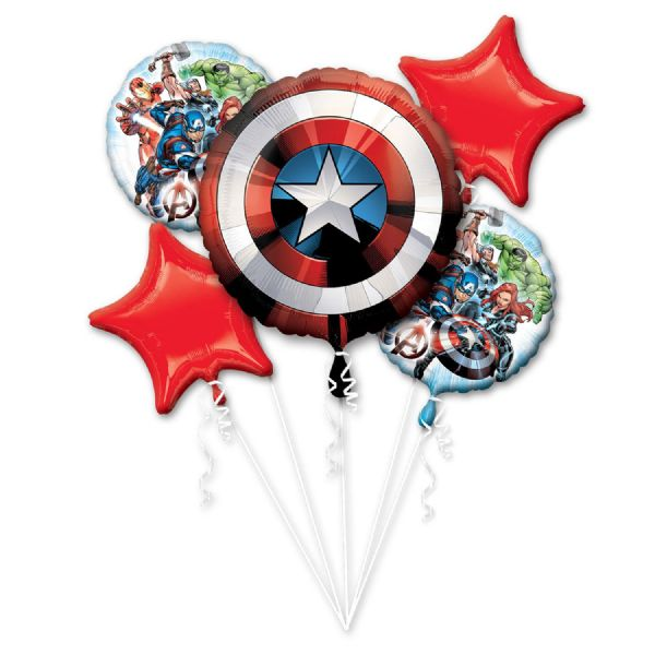 Avengers Assemble Foil Balloon Bouquet